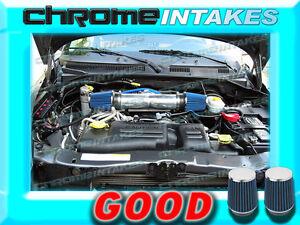 DUAL 05 06-10 JEEP GRAND CHEROKEE 5.7L 6.1L V8 SRT8 HEMI AIR INTAKE KIT K/&N Red