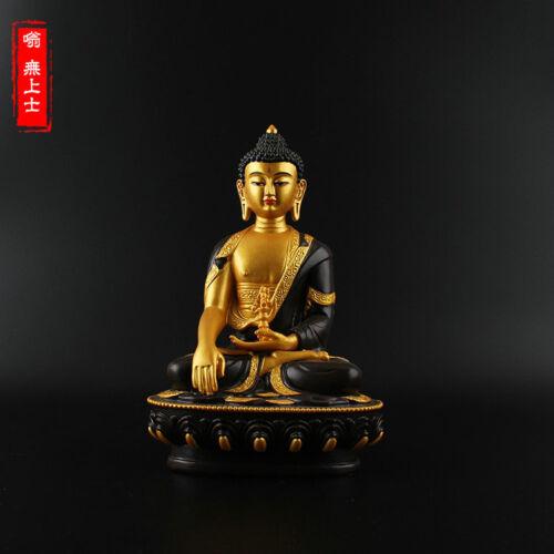 Tibetan Buddhism Hand painting resin statue Car decoration Aksobhya Buddha