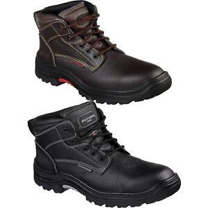 Mens Skechers 77143 TARLAC Steel Toe