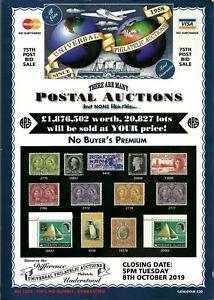 Israel 2019 Universal Philatelic Worldwide Stamp Auction Catalogue Very Nice Ebay