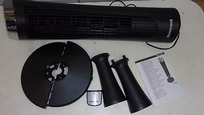 Honeywell HY254E QuietSet Ventilator schwarz//chrom Neuware