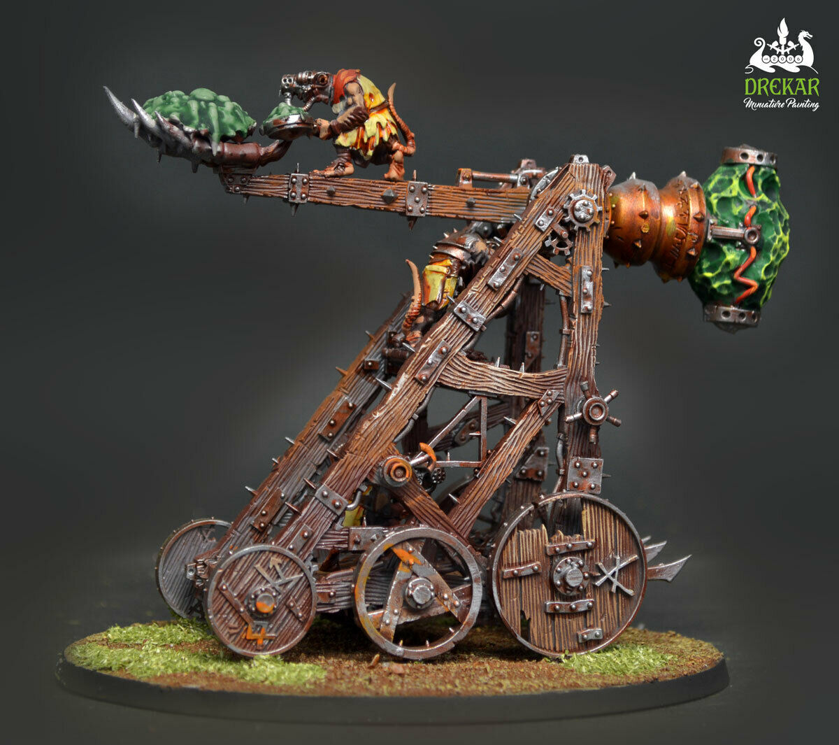 Plagueclaw Catapult Skaven Age of sigmar warhammer  COMMISSION  painting