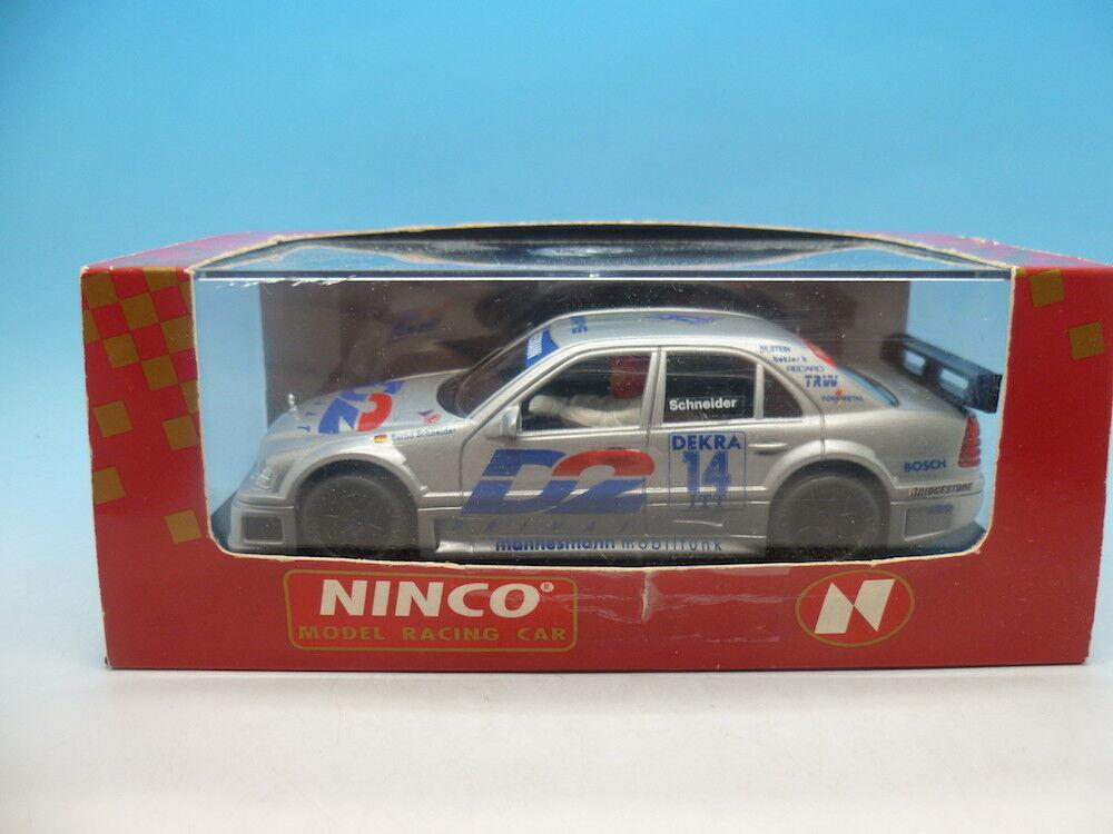 Ninco 50113 AMG Mercedes C-Klasse D2 mint car and unused
