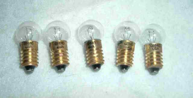 vintage c6 christmas bubble light replacement bulbs ge made usa noma carlisle