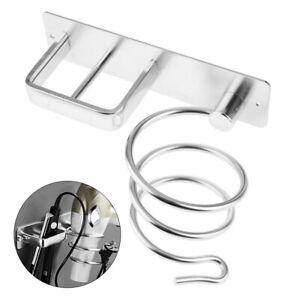 Straightener-Wall-Mounted-Organizer-Stand-Holder-Bathroom-Shelf-Hair-Dryer-Rack