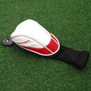 TaylorMade-Golf-Aeroburner-Hybrid-Headcover-Red-amp-White-amp-Black-amp-Silver-NEW