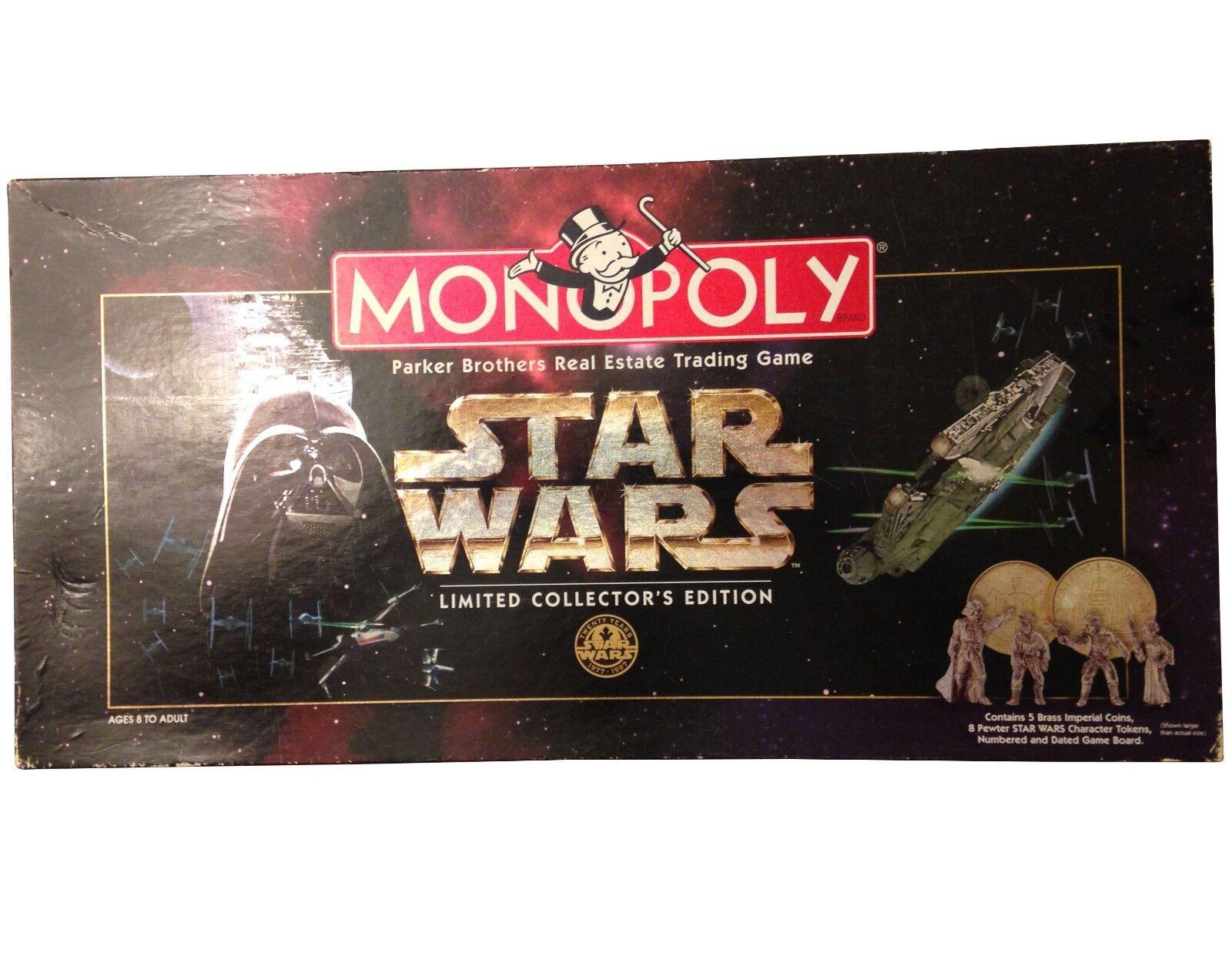 Monopolio, sin usar, piezas sellada en plástico