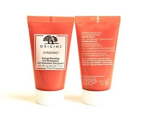 ORIGINS GinZing Energy Boosting GEL MOISTURIZER  Lot 2 x 1 Oz NEW FREE FAST SHIP