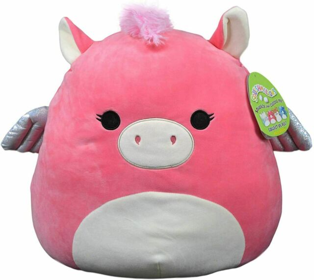 Squishmallow 16 in Paloma The Pegasus,Stuffed Animal Super Pillow Soft Plush Toy