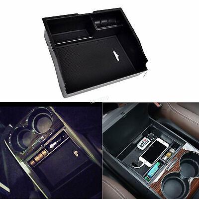Central Console Armrest Storage Box Organizer Tray For Toyota Sienna 2011-2017