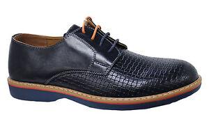 Baskets Diamant Foncé Richelieu Man's Casual Homme Bleu Chaussures HqzYwnS74x