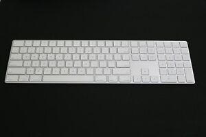 Apple Magic Keyboard With Numeric Keypad A1843 Mq052ll A Lightly Used Read Read 190198383396 Ebay