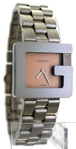 301ccb8688b La foto se está cargando Para-mujer-Gucci-3600J -Acero-Inoxidable-Cuadrante-Cuarzo-