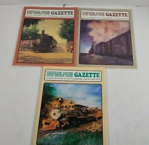 Narrow-Gauge-And-Short-Line-Gazzette-Lot-Of-3-1992-Modelbuilding-Magazines