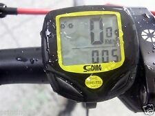 Funk Fahrradcomputer Fahrradtacho Tachometer Rad Bike Bicycle Fahrrad  kabellos
