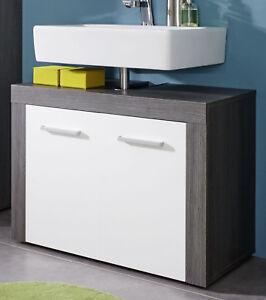waschbecken unterschrank wei sardegna grau waschtisch bad m bel schrank miami ebay. Black Bedroom Furniture Sets. Home Design Ideas