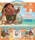 Disney Moana Ocean Adventure: Storybook and 2-in-1 Jigsaw Puzzle by Parragon Books Ltd (Mixed media product, 2016)