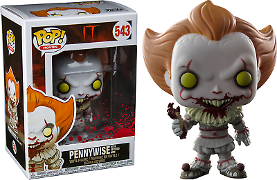Pennywise with boat nuevo!//New and Boxed rare! IT es #472 funko pop Movies!