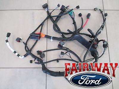 08 thru 10 super duty f250 f350 f450 f550 oem ford engine wiring harness  6.4l   ebay  ebay