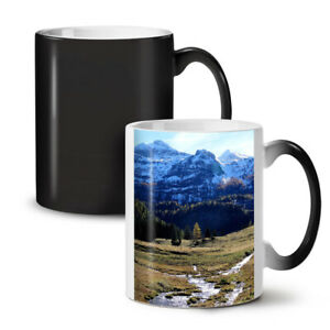 Mountain Valley Nature NEW Colour Changing Tea Coffee Mug 11 oz | Wellcoda