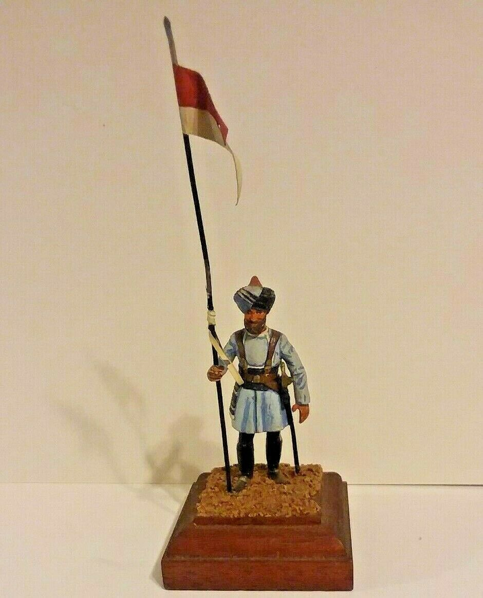 Charles Stadden lead soldier, 80 mm. Naik (corporal). Madras Lancers (c 1914)