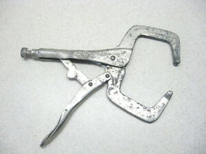 Vise Grip Locking C Clamps Vice Sheet Metal Welding Work Pliers Automatic G
