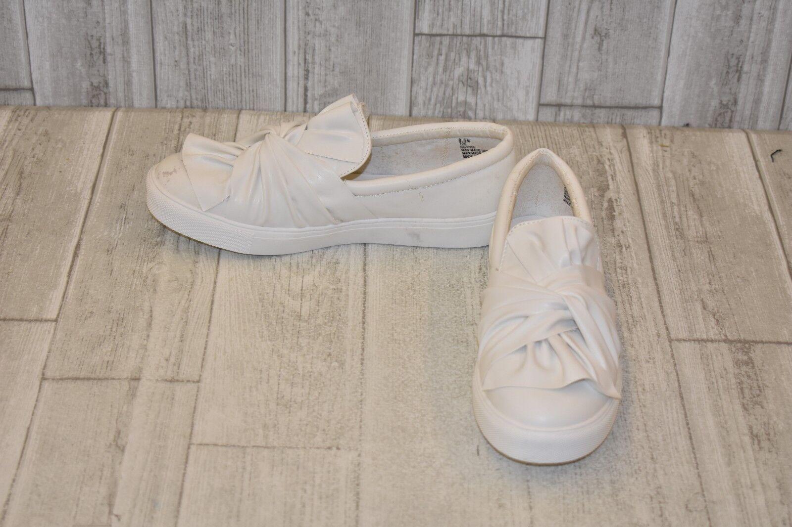 MIA Zoe Slip-On Sneaker, Women's Size 8.5 M, White