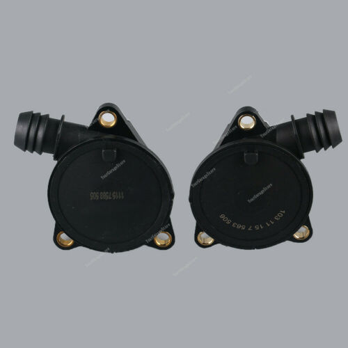Paar Links /& Rechts Kurbelgehäuse Entlüftungsventil Für BMW E65 E66 760i 760Li
