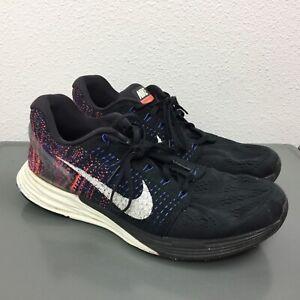 Men's Nike Lunarglide 7 Black Flyknit