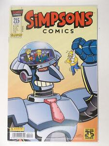 SIMPSONS-COMICS-Heft-215-Panini-Zustand-2