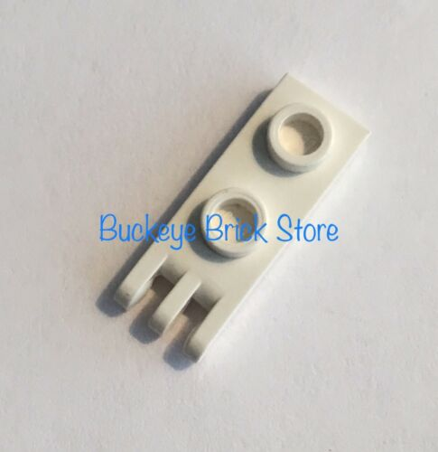 Lego WHATE 1x2 HINGE PLATE with 3 Fingers Lot of 1