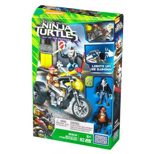 Mega Bloks Teenage Mutant Ninja Turtles Out of the Shadows Bebop Moto Attack