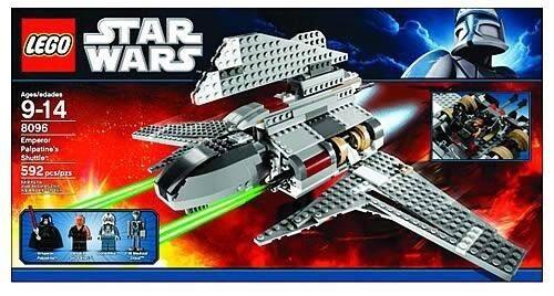 Lego Star Wars 8096 Darth Vader Palpatin Hanaking Soccorso
