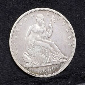 1860-O-Liberty-Seated-Half-Dollar-XF-Details-29628