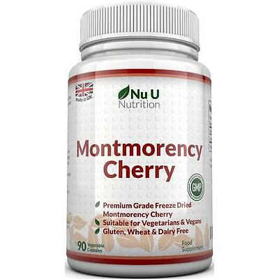 Montmorency Cherry 90 Capsules Not Extract Freeze Dried no fillers or binders