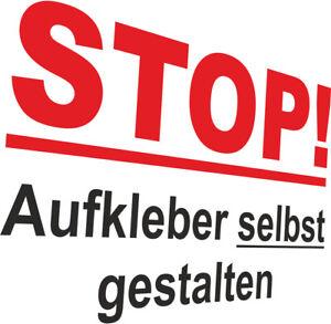 Wunschtext Aufkleber Konfigurator Fenster Auto Boot Zahl bis 400 cm x 120 cm