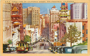 DB-Postcard-CA-G478-S-F-6-Cable-Cars-on-California-Street-San-Francisco-Old-Sign