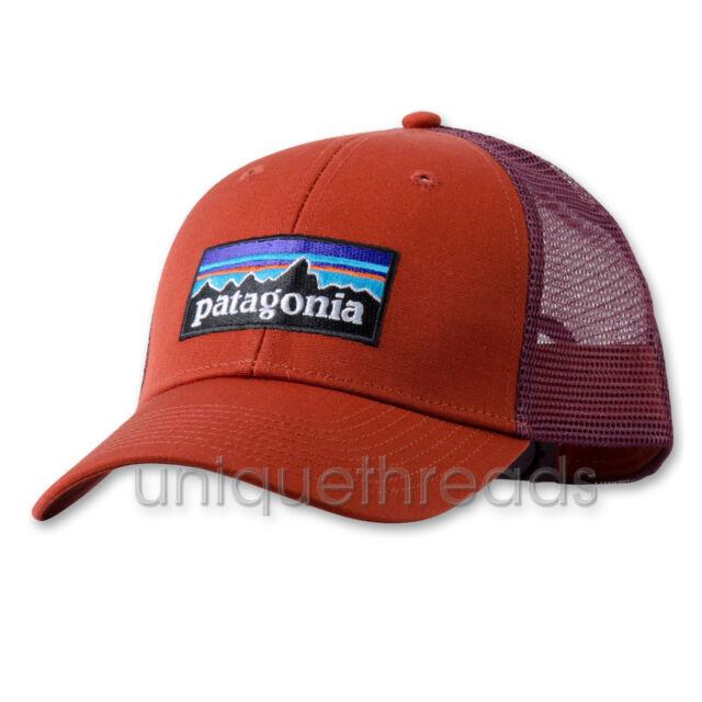 2b8cf92724e7f Patagonia Mens P-6 Logo LoPro Trucker Snapback Cap hat 38016 Roots ...