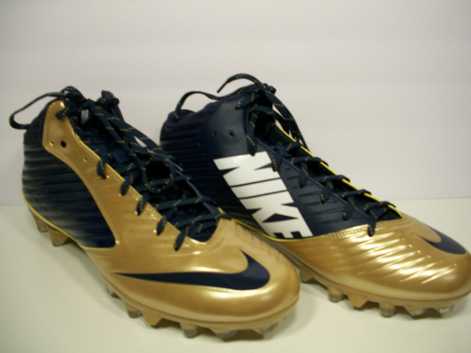 NIKE Vapor Speed 3/4 TD Football Cleats 15 668839-426 Navy Blue/Gold Size 15 Cleats 561ee2