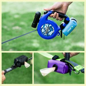 Pet-Dispenser-Waste-Dog-Poo-Puppy-Pick-Up-Bags-Travel-Poop-Bag-Holder-Hook-Pouch