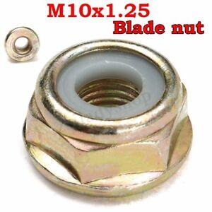 M10x1-25-Left-Handed-Thread-Blade-Nut-For-Various-Strimmer-Brush-Cutter-Trimmer