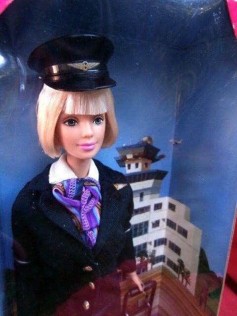 VINTAGE MATTEL BARBIE PILOT DOLL  -  TAKE OFF WITH BARBIE !