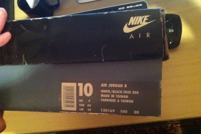 Nike Air ORIGINAL Jordan 8
