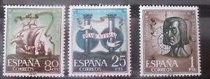 SPAIN ESPAÑA 1963 EDIFIL Nº 1513/15 ** MNH  CONGRESO INSTITUCIONES HISPANICAS - España - SPAIN ESPAÑA 1963 EDIFIL Nº 1513/15 ** MNH  CONGRESO INSTITUCIONES HISPANICAS - España