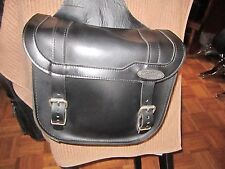 American-Made Latigo Leather Throw-over Saddlebags, Used... Best 4 Smaller Bikes