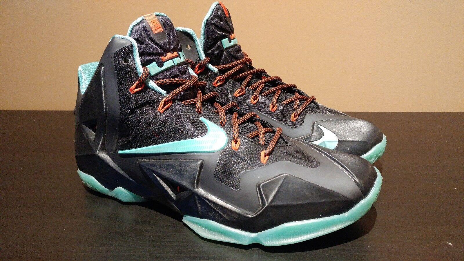 Nike LeBron 11 XI Diffused Jade VNDS 10.5 Red Carpet 2014