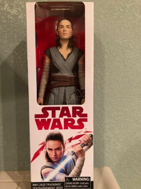 Jedi Training 12 inch Figure New Star Wars Episode VIII The Last Jedi Rey