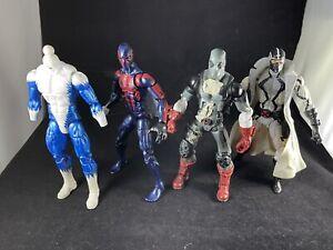 Marvel Legends Spiderman 2099 Deadpool Fantomex Custom Fodder Lot