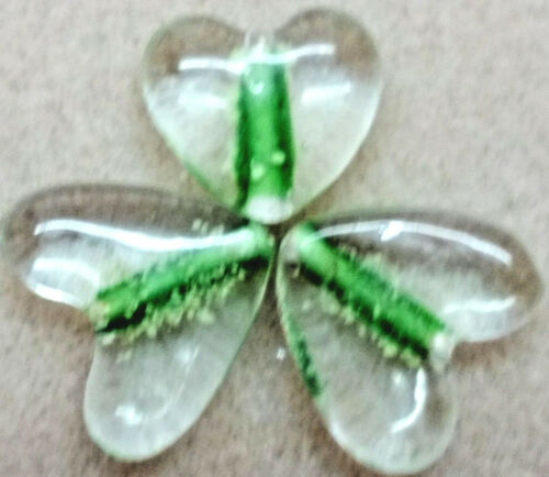 Bead défets dark Fun Couleurs-Emerald 10 pendentif en forme de cœur perles-Glow-in-the