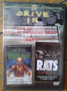Hell Of The Living Dead / Rats Night Of Terror - Combo Blu